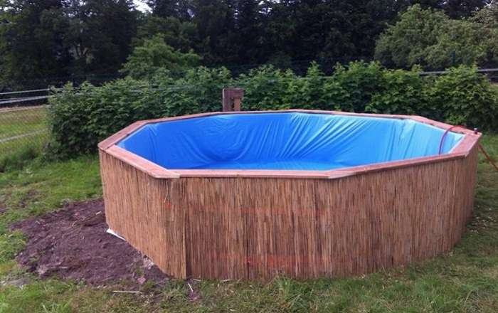 Как построить бассейн на даче