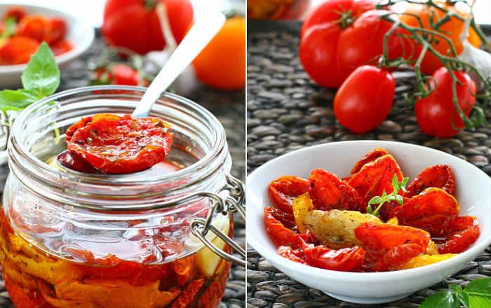 Вяленые помидоры, рецепт