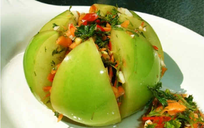 Рецепты из зеленых помидоров