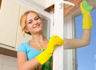 Как правильно мыть окна