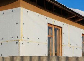 Как утеплить стены дачного дома пенопластом