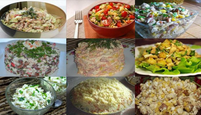 Как готовить салаты разные и вкусные