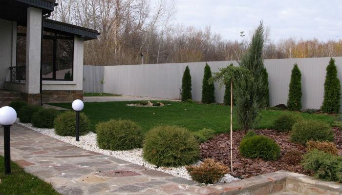 Пейзажный сад из хвойных – ландшафтная переделка для жизни и отдыха