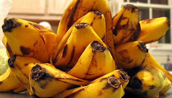 Удобрение для комнатных цветов из банановой кожуры
