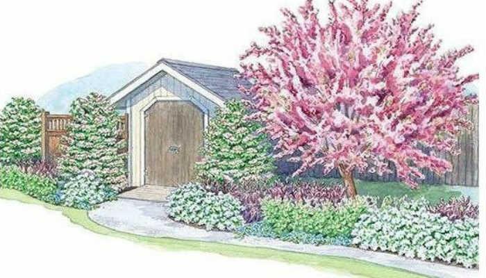 Хотите шикарный цветник около ворот?!