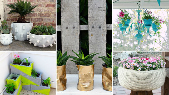 Как украсить ящики для цветов